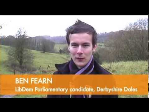 Ben Fearn: 1st interview as Parliamentary candidate for Derbyshire Dales