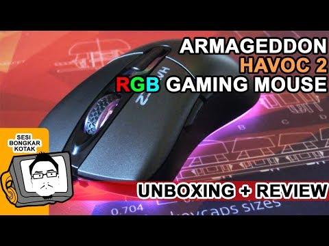 ARMAGEDDON HAVOC 2 | RGB Gaming Mouse