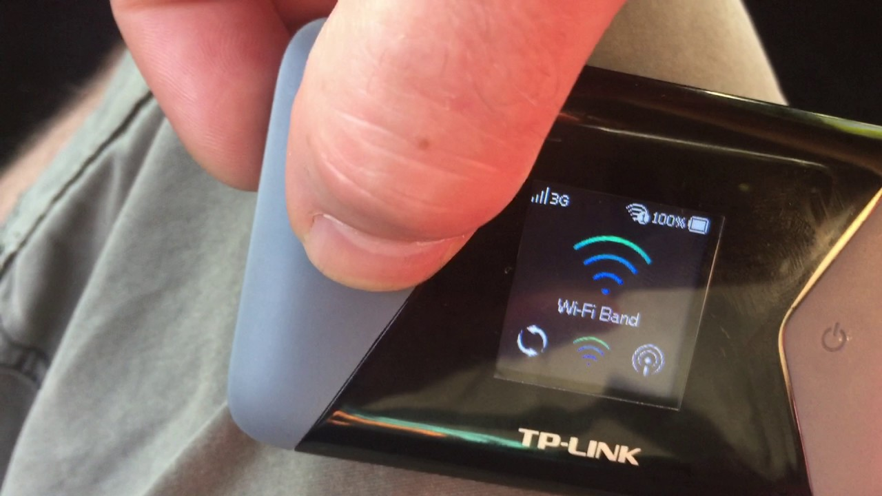 TP LINK M7350 Configuration - YouTube