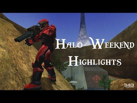 Justinsane's Halo Weekend Highlights #1 (MCC)