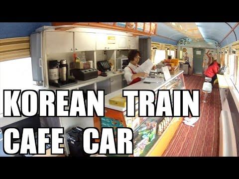 The Korean Train Cafe Car