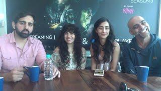 Live Chat with the Cast of A.I.SHA - Raghu Ram, Auritra Ghosh, Adesh Sidhu, Rashi Mal