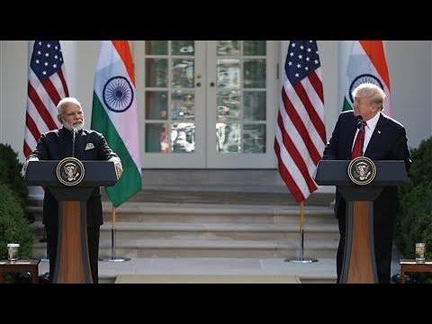 Trump: U.S.-India Relationship Has 'Never Been Stronger'