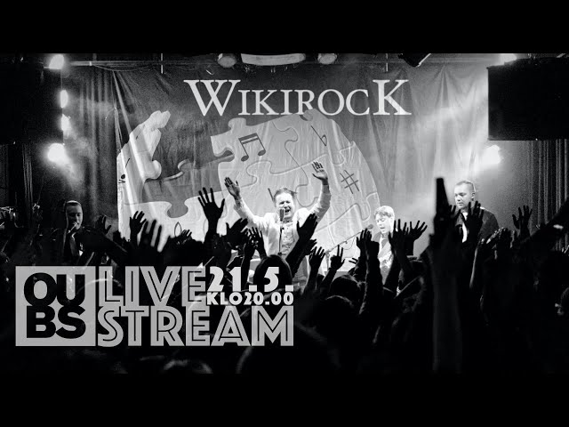 WikiRock Live at OUBS