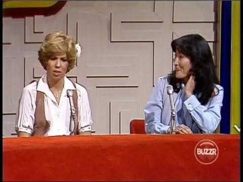 Password Plus 1979  Carole Burnett and Vicki Lawrence  Vicki Swears at Alan Ludden!