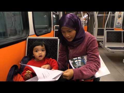 20150504 train dari airport ke blue mosque
