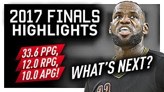LeBron James EPIC Offense Highlights VS Warriors (2017 Finals) - What