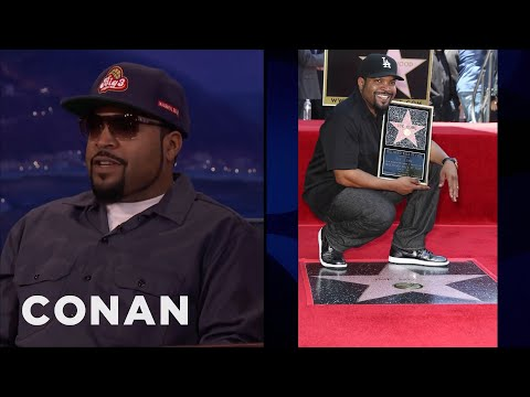 Ice Cube Got A Star On The Walk Of Fame  - CONAN on TBS