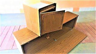 Не выбрасывай старый шкаф! Крутая самоделка для гаража!