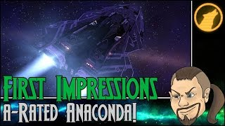 elite dangerous first impressions a rated anaconda review