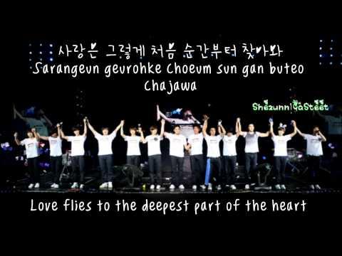 Super Junior-Shining Star [Hangul+Romanization+Eng Sub] Lyrics