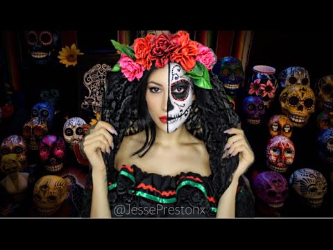 day-of-the-dead--sugar-skull-halloween-tutorial
