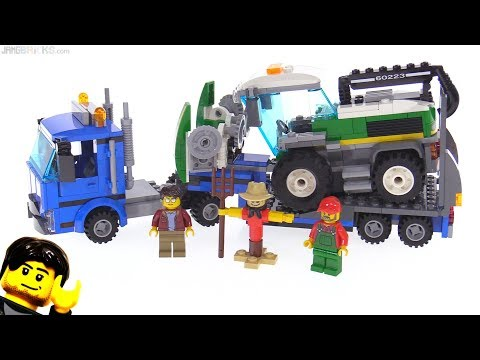 LEGO City Harvester Transport review 60223