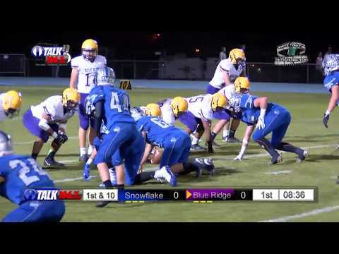 Blue Ridge vs Snowflake High School Football Full Game Yellow Jackets vs Lobos