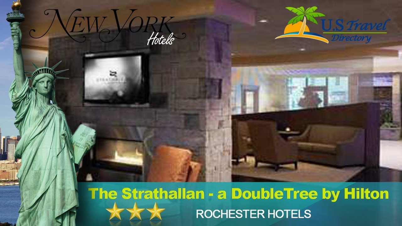 The Strathallan - a DoubleTree by Hilton - Rochester Hotels, New York