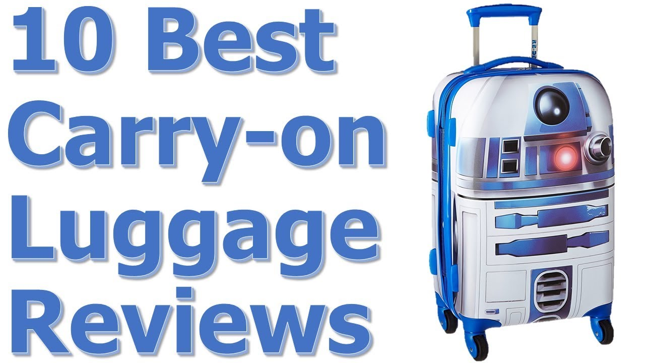 Best Carry on Luggage for International Travel or Business Travel ...