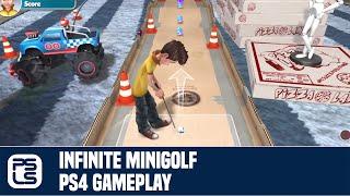 Infinite Minigolf PS4 Gameplay