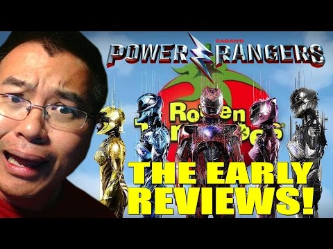 EARLY REVIEWS! Power Rangers Movie Rotten Tomatoes Early Critic Scores!
