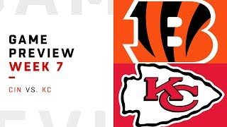 Cincinnati Bengals vs. Kansas City Chiefs | Week 7 Game Preview | Move the Sticks