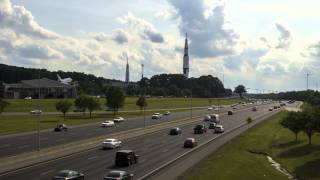 U.S. Space and Rocket Center Huntsville Time Lapse 4k
