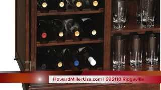 Howard Miller Wine & Bar Cabinet | 695110 Ridgeville