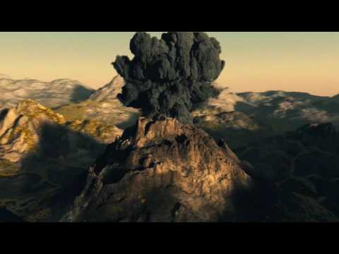 Volcano Pyroclastic Cloud (Dante's Peak)
