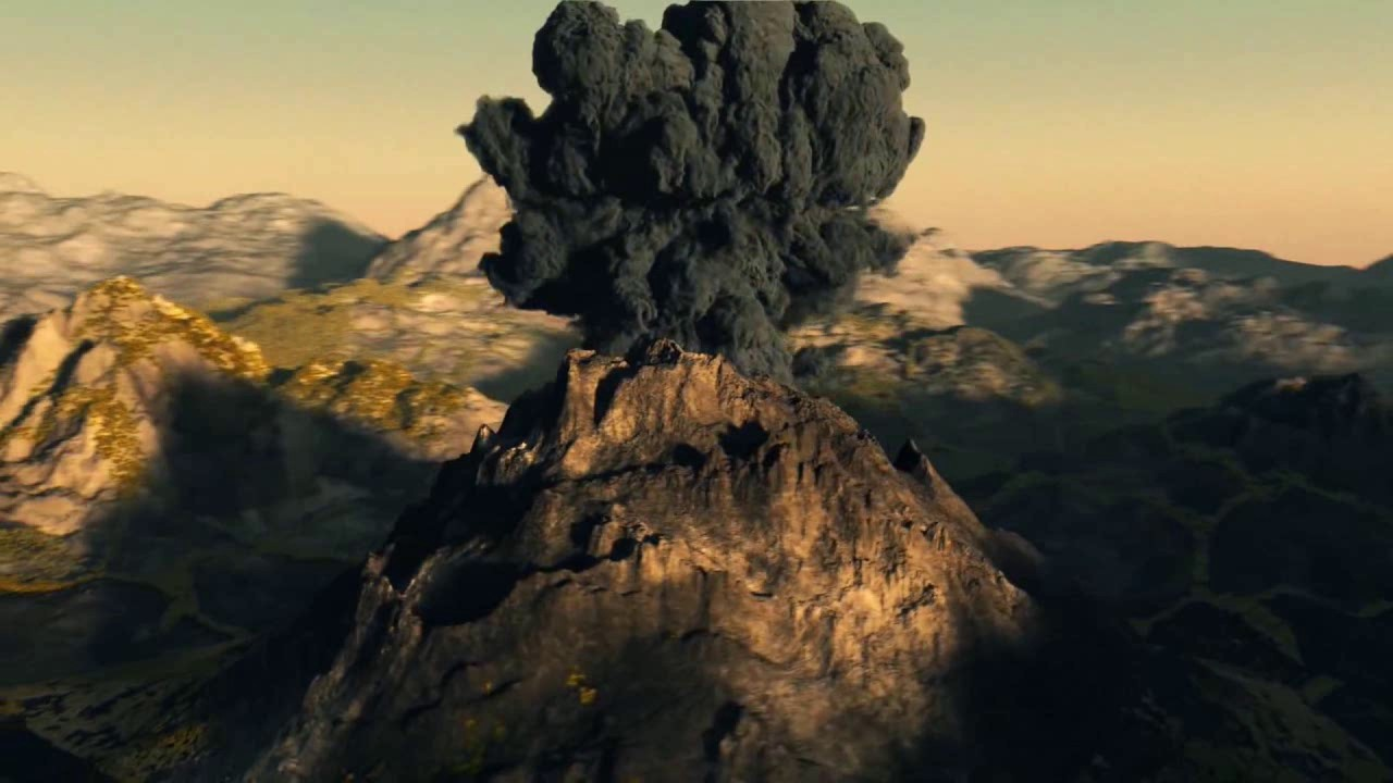 Volcano Pyroclastic Cl...