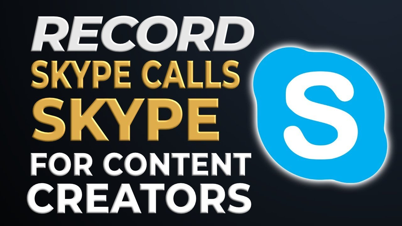 How to Record Skype Calls with Skype for Content Creators on Mac