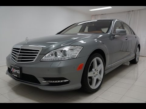 2011 Mercedes Benz S550 4MATIC Night Vision - YouTube