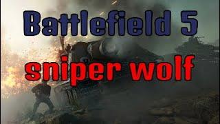 Battlefield V Sniper wolf