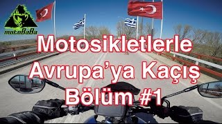 Motosikletlerle Avrupa' ya Kaçmak : Bölüm #1 / Honda CBR 600 rr & Suzuki GSX S1000 A /Motovlog