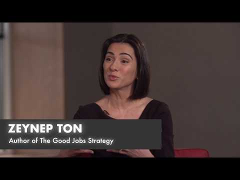 MIT Sloan Experts Series – Zeynep Ton: The Business Case for Good Jobs