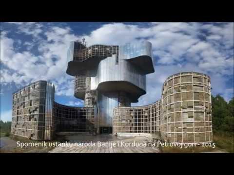 Spomenik Ustanku Naroda Banije I Korduna Petrova Gora 2015 Youtube