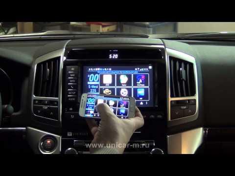 Подключение смартфона на ОС Android или IOS к штатному монитору Toyota LC200Mirrorlink