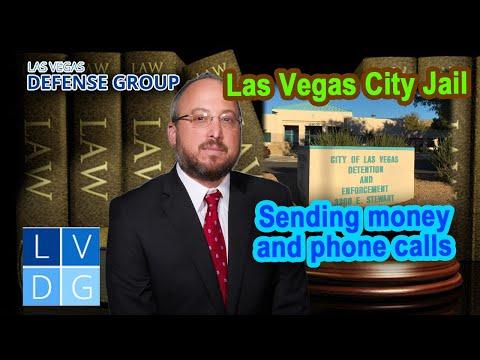 Las Vegas City Jail: Address, sending money, and phone calls