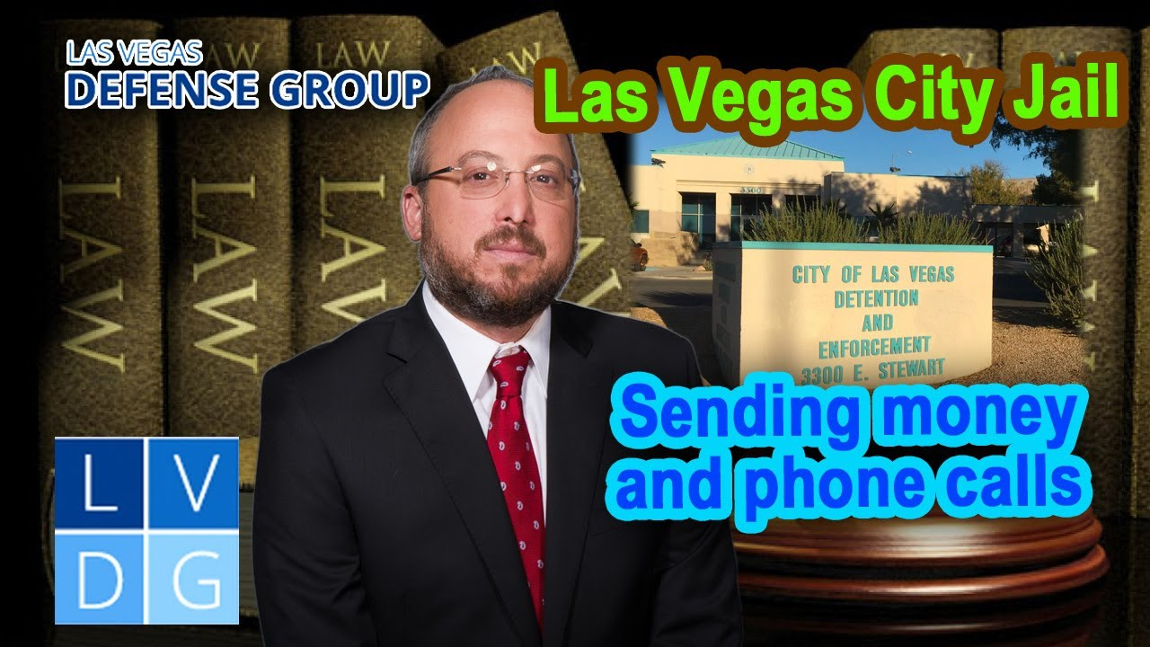 Info for the City of Las Vegas Detention Center - Location, Bail