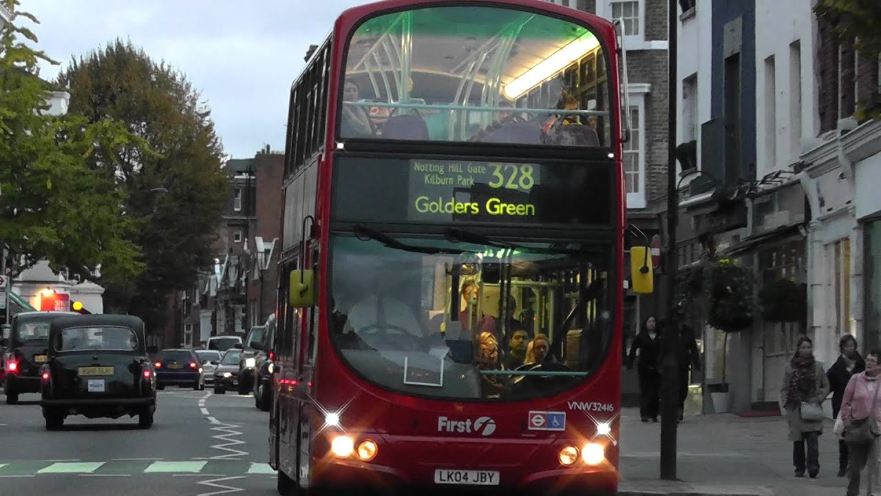 buses cars at queensway notting hill gate youtube. Black Bedroom Furniture Sets. Home Design Ideas