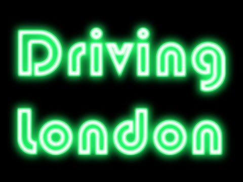 Driving London Streets #14 Night time Chislehurst to Finchley