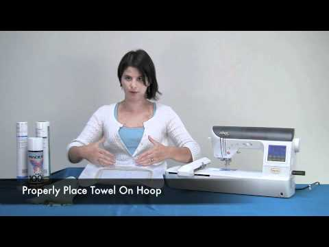 How to embroider a towel youtube ccuart Image collections