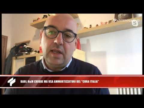 26 aprile 2020 - Bari, H&M chiude ma usa ammortizzatori del 'Cura Italia'
