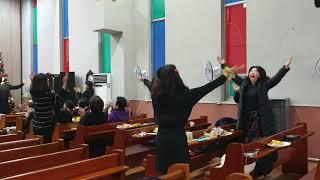 샤론교회 중고청 플래시몹ㅡ좋으신 하나님