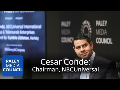 Cesar Conde, Chairman, NBCUniversal International Group & Te