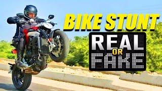 Is Ajith's Valimai Bike Stunt Photoshopped? | Clarification