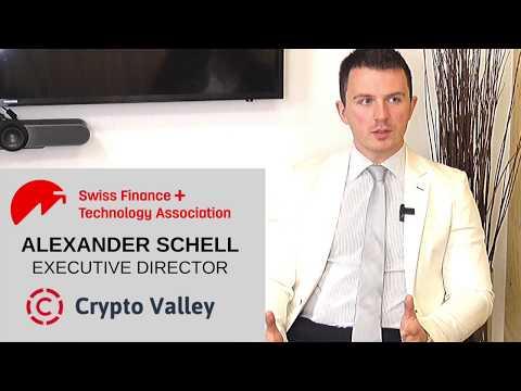 Alexander Schell, Executive Director of The Crypto Valley Association
