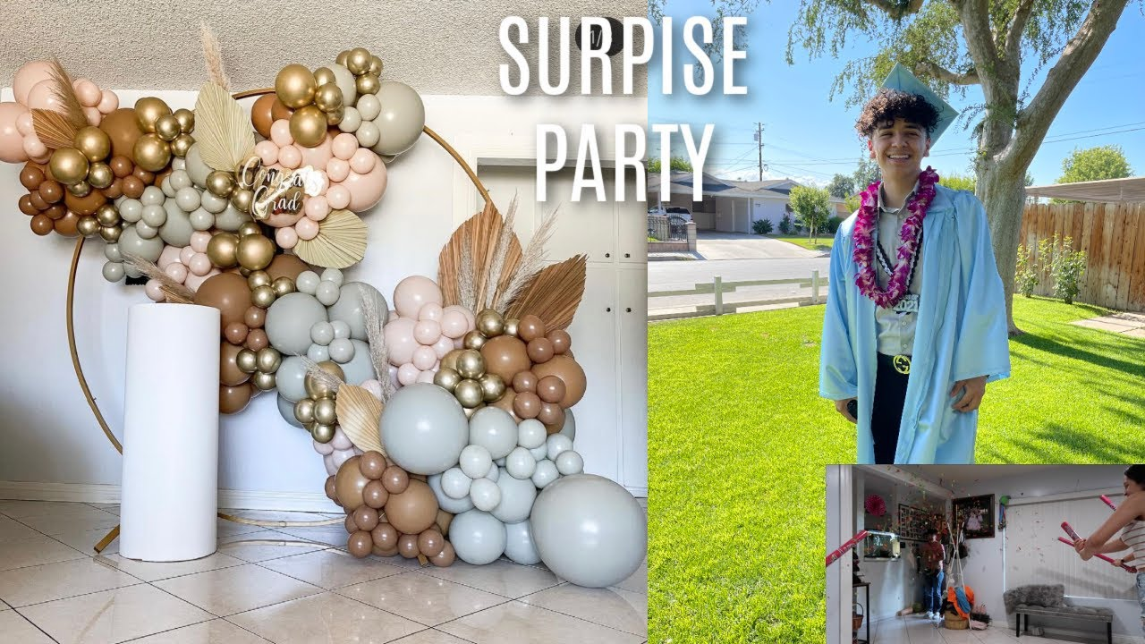 throwing a surprise graduation party for my boyfriend   SUMMERMESS DAY 11