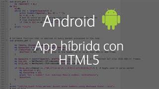 Android - App híbrida con HTML5