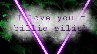 I love you ~billie eilish 1 hour ( in the rain )