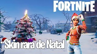 Fortnite-I blew up the guys with the rare Christmas skin.