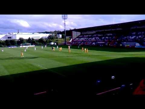 Motherwell vs Hamilton Accies@New Douglas Park 24-7-12 Friendly