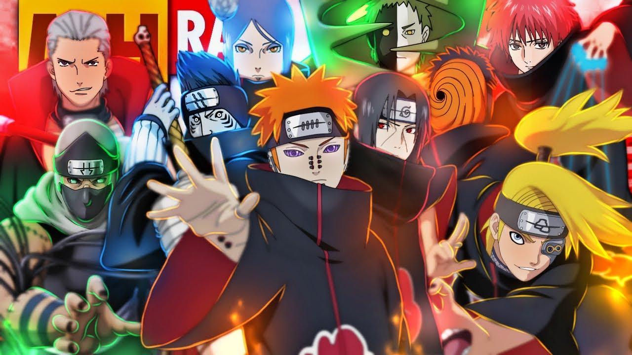 Tipo Akatsuki 🔥 (Naruto) Lyric Video | Style Trap | Prod. Sidney Scaccio | MHRAP